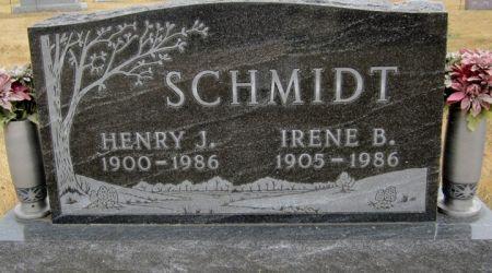 SCHMIDT, HENRY J. - Fayette County, Iowa   HENRY J. SCHMIDT