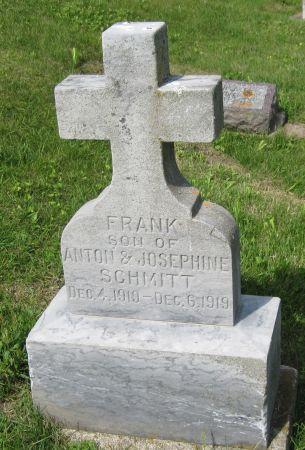 SCHMITT, FRANK - Fayette County, Iowa | FRANK SCHMITT