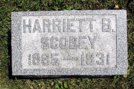 SCOBEY, HARRIETT B. - Fayette County, Iowa | HARRIETT B. SCOBEY