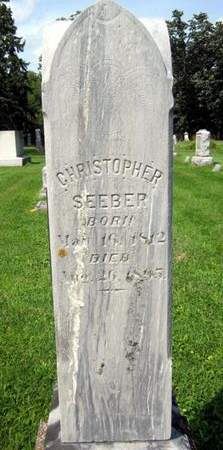 SEEBER, CHRISTOPHER - Fayette County, Iowa | CHRISTOPHER SEEBER