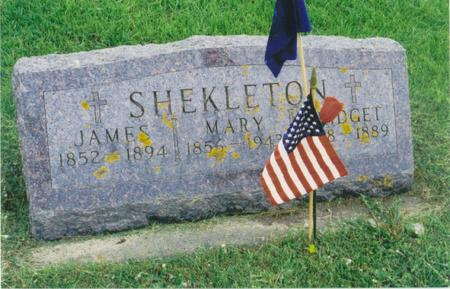 SHEKLETON, JAMES  - Fayette County, Iowa | JAMES  SHEKLETON