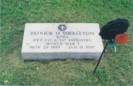 SHEKLETON, PATRICK H. - Fayette County, Iowa | PATRICK H. SHEKLETON