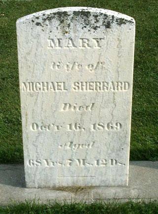 SHERRARD, MARY - Fayette County, Iowa | MARY SHERRARD