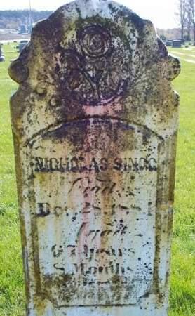 SINGG, NICHOLAS - Fayette County, Iowa | NICHOLAS SINGG