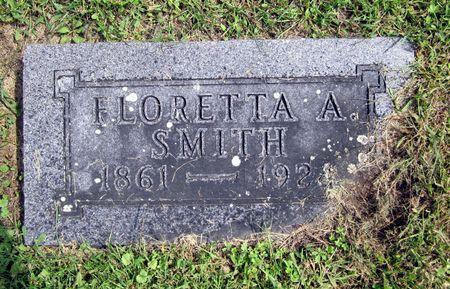 SMITH, FLORETTA A. - Fayette County, Iowa   FLORETTA A. SMITH