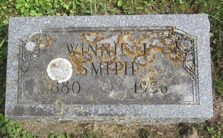 JOHNSON SMITH, WINNIE JANE - Fayette County, Iowa | WINNIE JANE JOHNSON SMITH