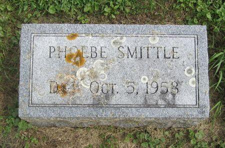 BENSON SMITTLE, PHOEBE - Fayette County, Iowa   PHOEBE BENSON SMITTLE