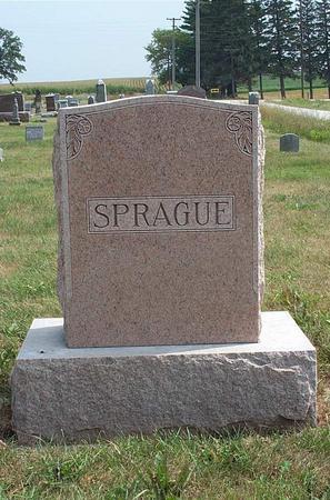 SPRAGUE, (MONUMENT) - Fayette County, Iowa | (MONUMENT) SPRAGUE