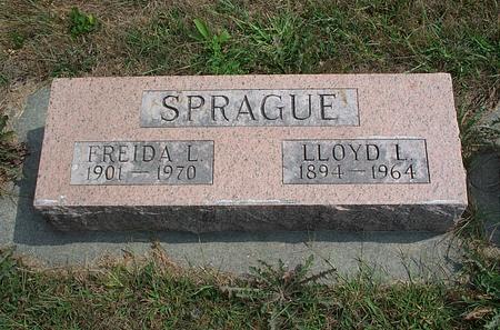 SPRAGUE, LLOYD L. - Fayette County, Iowa | LLOYD L. SPRAGUE