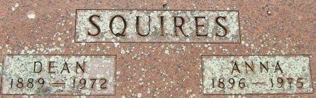 SQUIRES, ANNA - Fayette County, Iowa   ANNA SQUIRES