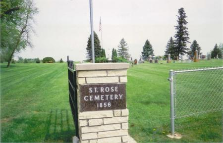 ST. ROSE, CEMETERY - Fayette County, Iowa | CEMETERY ST. ROSE