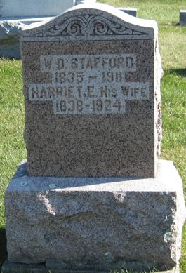 STAFFORD, HARRIET E. - Fayette County, Iowa | HARRIET E. STAFFORD