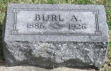 STOHR, BURL A. - Fayette County, Iowa   BURL A. STOHR