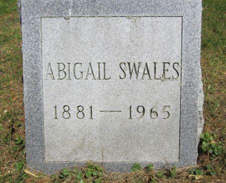 SWALES, ABIGAIL - Fayette County, Iowa | ABIGAIL SWALES