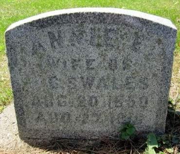 SWALES, ANN ELIZABETH - Fayette County, Iowa | ANN ELIZABETH SWALES
