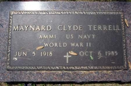 TERRELL, MAYNARD CLYDE - Fayette County, Iowa   MAYNARD CLYDE TERRELL