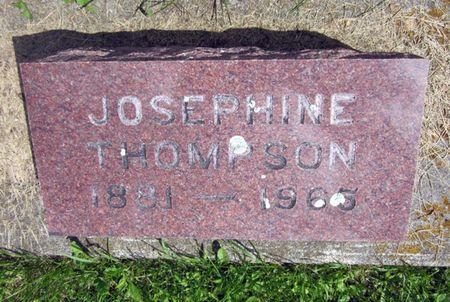 HUNERBEREG THOMPSON, JOSEPHINE - Fayette County, Iowa | JOSEPHINE HUNERBEREG THOMPSON