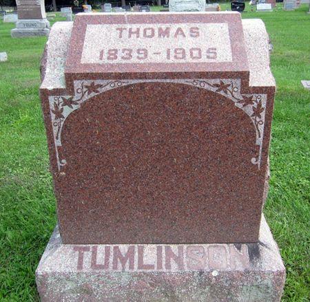 TUMLINSON, THOMAS - Fayette County, Iowa   THOMAS TUMLINSON