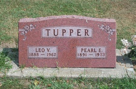 TUPPER, LEO VERN - Fayette County, Iowa   LEO VERN TUPPER