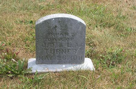 TURNER, (INFANT DAUGHTER) - Fayette County, Iowa | (INFANT DAUGHTER) TURNER