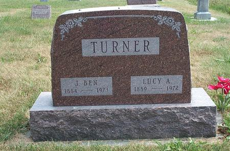 TURNER, JAMES BENJAMIN BUTLER