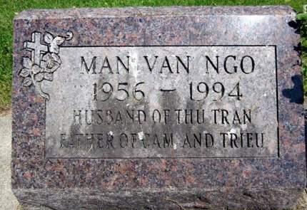VAN NGO, MAN - Fayette County, Iowa   MAN VAN NGO