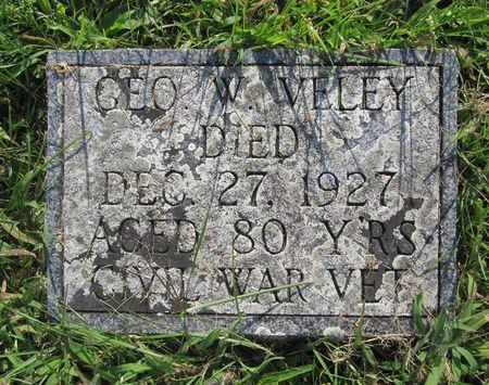 VELEY, GEORGE - Fayette County, Iowa   GEORGE VELEY