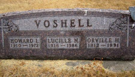 VOSHELL, HOWARD L. - Fayette County, Iowa | HOWARD L. VOSHELL