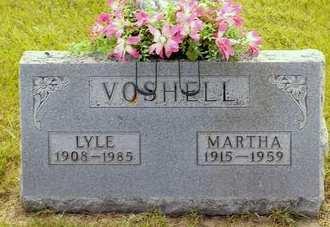 VOSHELL, MARTHA - Fayette County, Iowa | MARTHA VOSHELL