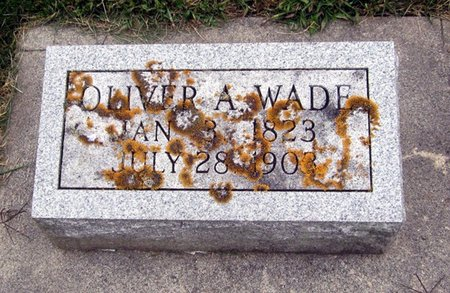 WADE, OLIVER A. - Fayette County, Iowa | OLIVER A. WADE