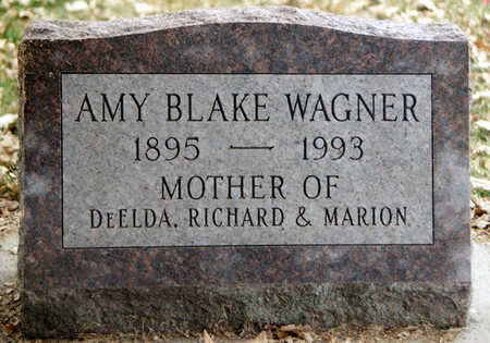 WAGNER, AMY BELLE - Fayette County, Iowa   AMY BELLE WAGNER