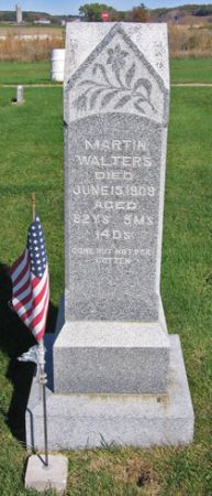 WALTERS, MARTIN - Fayette County, Iowa | MARTIN WALTERS