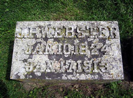 WEBSTER, JOSEPH PALMER - Fayette County, Iowa | JOSEPH PALMER WEBSTER