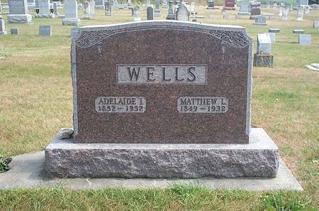 WELLS, MATTHEW LYBRAND - Fayette County, Iowa | MATTHEW LYBRAND WELLS