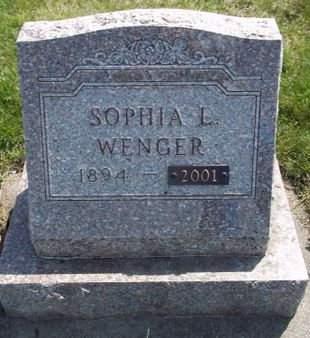 WENGER, SOPHIA L. - Fayette County, Iowa | SOPHIA L. WENGER
