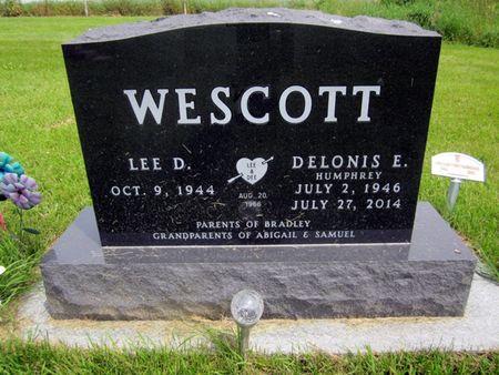 WESCOTT, DELONIS E. - Fayette County, Iowa | DELONIS E. WESCOTT