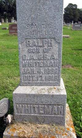 WHITEMAN, RALPH - Fayette County, Iowa | RALPH WHITEMAN
