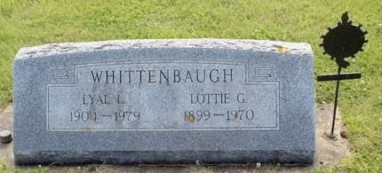 WHITTENBAUGH, LOTTIE G. - Fayette County, Iowa   LOTTIE G. WHITTENBAUGH