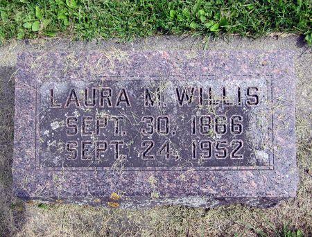 MOORE WILLIS, LAURA MATILDA - Fayette County, Iowa   LAURA MATILDA MOORE WILLIS