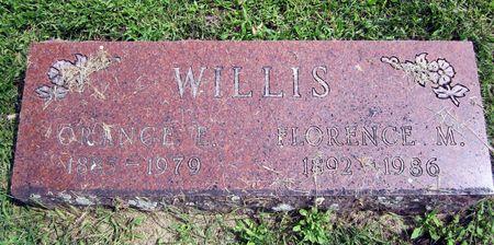 WILLIS, FLORENCE - Fayette County, Iowa   FLORENCE WILLIS