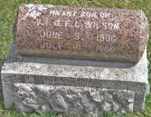 WILSON, INFANT SON - Fayette County, Iowa | INFANT SON WILSON