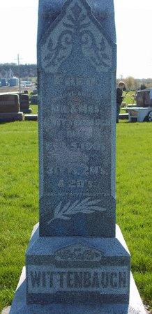 WITTENBAUGH, FRED - Fayette County, Iowa | FRED WITTENBAUGH