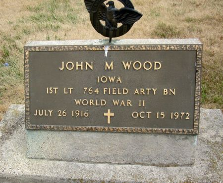 WOOD, JOHN M. - Fayette County, Iowa   JOHN M. WOOD