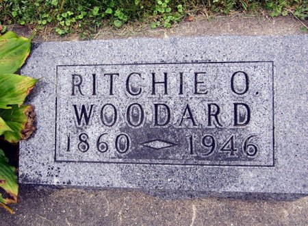 WOODARD, RITCHIE O. - Fayette County, Iowa | RITCHIE O. WOODARD