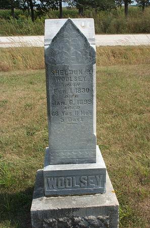 WOOLSEY, SHELDON P. - Fayette County, Iowa   SHELDON P. WOOLSEY