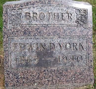 YORK, EDWIN - Fayette County, Iowa | EDWIN YORK