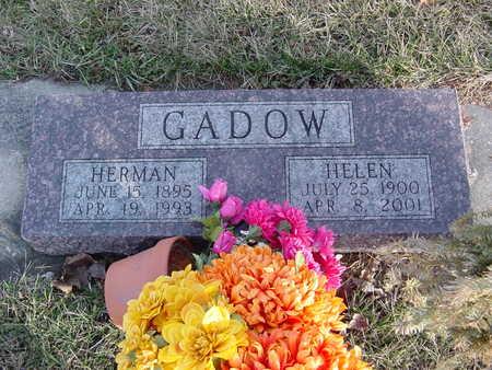 CROFT GADOW, HELEN - Fayette County, Iowa | HELEN CROFT GADOW