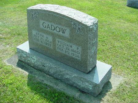 GADOW, WILHELM - Fayette County, Iowa | WILHELM GADOW
