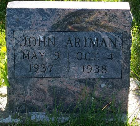 ARTMAN, JOHN - Floyd County, Iowa | JOHN ARTMAN
