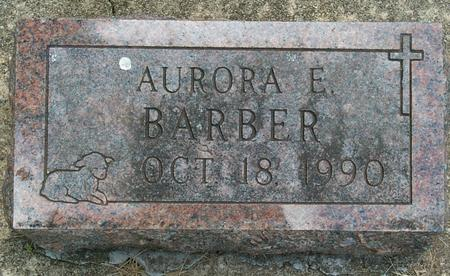 BARBER, AURORA E. - Floyd County, Iowa | AURORA E. BARBER